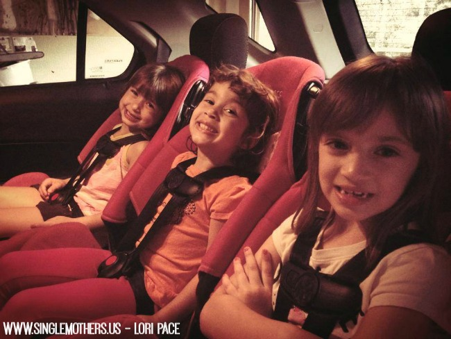 Kids in car seat