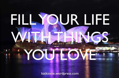 things you love